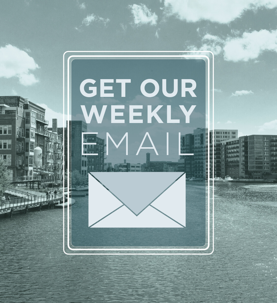 Weekly email